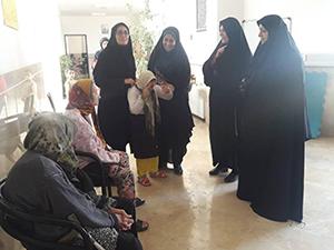 بازدید خانه سالمندان