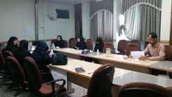 جلسه ارتقاء آموزش های حین ازدواج