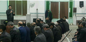 کلاس آموزشی برای مردان روستای یزدل در حسینیه صاحب الزمان برگزار شد.