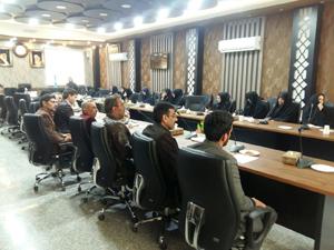 جلسه آموزش و توجیهی مدارس مروج سلامت برگزار شد.