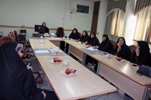 گروه کاری جمعیت با رویکرد فرهنگی برگزار شد.