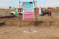 کلنگ احداث خانه بهداشت روستای علی آباد از توابع ابوزیدآباد به زمین زده شد
