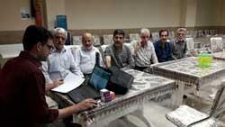 پرونده الکترونیک سلامت بازنشتگان خانه امید شهرستان آران و بیدگل تشکیل گردید.