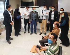 مرکز تجمیعی واکسیناسیون فرهنگیان افتتاح شد.