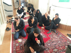 برگزاری مراسم زیارت عاشورای حسینی